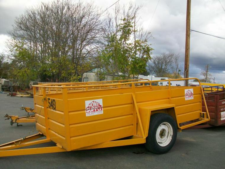 Rent Trailers: 5x8, 5x10, 5x12, Dump Trailer, Flatbed Trailer